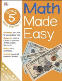 Math Made Easy: Grade 5 (Paperback)