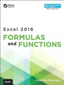 Excel 2016 Formulas and Functions (Paperback)
