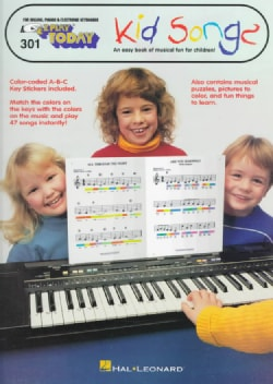 Kid's Songfest: An Easy Book of Musical Fun for Children! (Paperback)