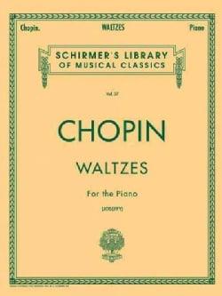 Waltzes Joseffy: Piano Solo (Paperback)