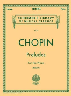 Chopin Preludes for the Piano (Paperback)