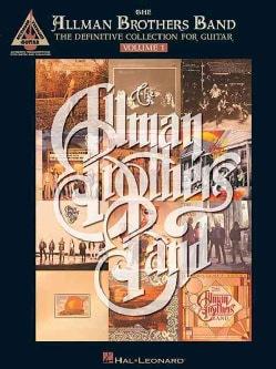 The Allman Brothers Band - the Definitive Collection for Guitar (Paperback)