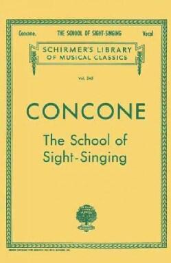 School of Sight-singing (Paperback)