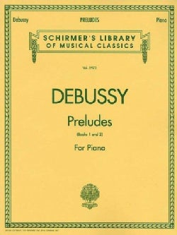 Debussy: Preludes for Piano Book 1 and 2 (Paperback)