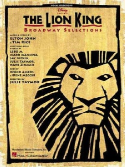 The Lion King: Broadway Selections (Paperback)