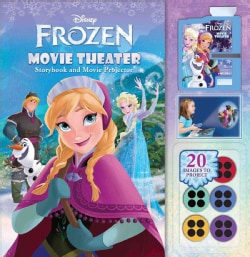 Disney Frozen Movie Theater: Storybook and Movie Projector