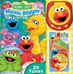 Sesame Street Music Player Storybook (Hardcover)