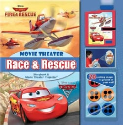 Disney Race & Rescue Movie Theater Storybook & Movie Projector