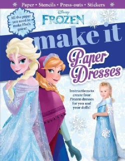 Make It Paper Dresses (Hardcover)