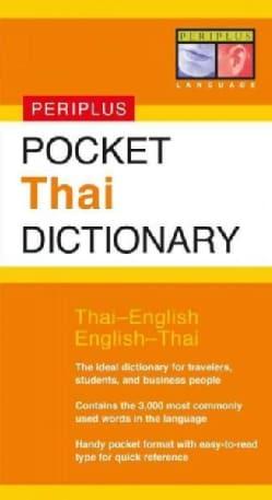 Pocket Thai Dictionary (Paperback)