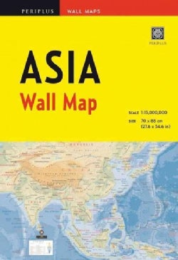 Periplus Asia Wall Map (Sheet map, folded)
