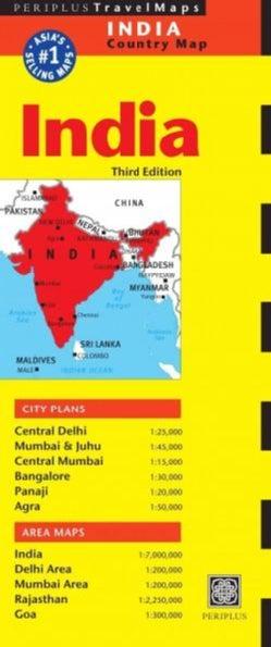Periplus India (Sheet map, folded)