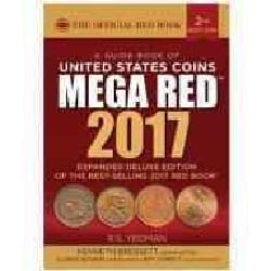 A Guide Book of United States Coins Mega Red Book 2017: The Official Red Book (Paperback)