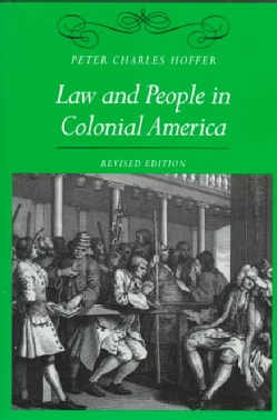 Law and People in Colonial America (Paperback)