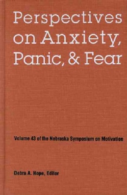 Perspectives on Anxiety, Panic, and Fear (Hardcover)