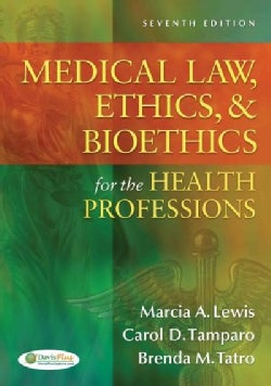 Medical Law, Ethics, & Bioethics for the Health Professions (Paperback)