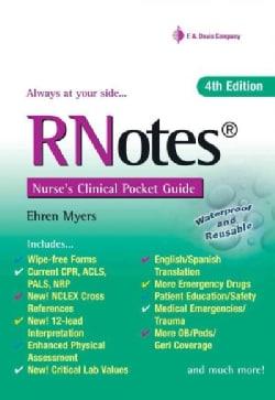 RNotes: Nurse's Clinical Pocket Guide (Paperback)