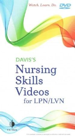 Davis's Nursing Skills Videos for LPN/LVN (DVD video)