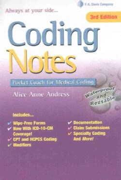 Coding Notes: Pocket Coach for Medical Coding