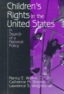 Children's Rights in the United States: In Search of a National Policy (Hardcover)