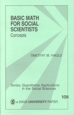 Basic Math for Social Scientists: Concepts (Paperback)