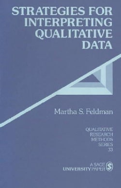 Strategies for Interpreting Qualitative Data (Paperback)