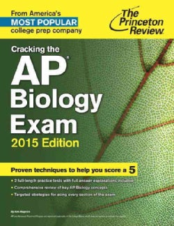 The Princeton Review Cracking the Ap Biology Exam 2015 (Paperback)