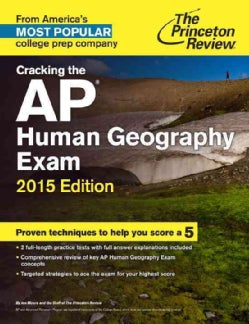 The Princeton Review Cracking the Ap Human Geography Exam 2015 (Paperback)