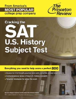 The Princeton Review Cracking the Sat U.s. History Subject Test (Paperback)