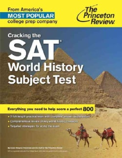 The Princeton Review Cracking the Sat World History Subject Test (Paperback)