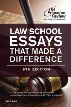 Law School Essays That Made a Difference (Paperback)