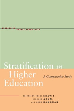 Stratification in Higher Education: A Comparative Study (Hardcover)