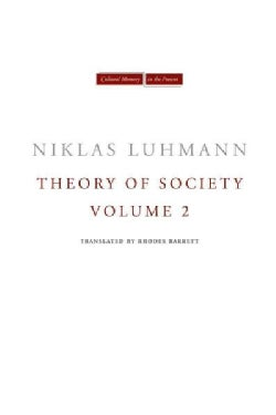 Theory of Society (Hardcover)
