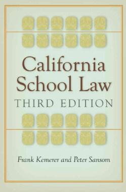 California School Law (Hardcover)