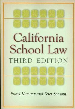 California School Law (Paperback)