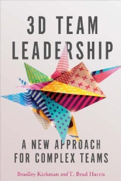 3d Team Leadership: A New Approach for Complex Teams (Hardcover)