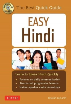 Easy Hindi: Learn to Speak Hindi Quickly (Cd-rom, Dictionary and Manga Included)