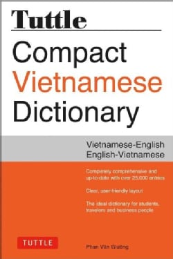 Tuttle Compact Vietnamese Dictionary: Vietnamese-English, English-Vietnamese (Paperback)