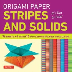 Origami Paper - Stripes and Solids 6 Inch - 96 Sheets: Tuttle Origami Paper: High-quality Origami Sheets ... (Other book format)