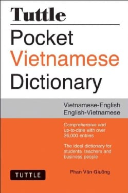 Tuttle Pocket Vietnamese Dictionary: Vietnamese-English English-Vietnamese (Paperback)