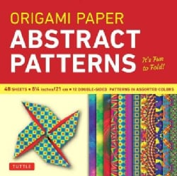 Origami Paper Abstract Patterns 8 1/4 Inch 48 Sheets: It's Fun to Fold! (Other book format)