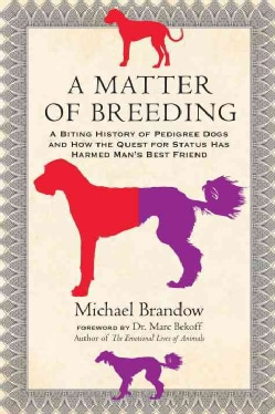 A Matter of Breeding: A Biting History of Pedigree Dogs and How the Quest for Status Has Harmed Man's Best Friend (Paperback)
