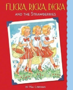 Flicka, Ricka, Dicka and the Strawberries (Hardcover)
