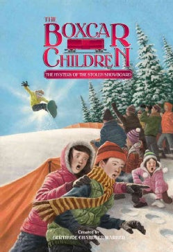 The Mystery of the Stolen Snowboard (Hardcover)