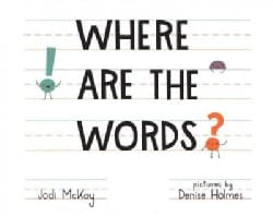 Where Are the Words? (Hardcover)
