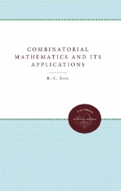 Combinatorial Mathematics and Its Applications (Paperback)