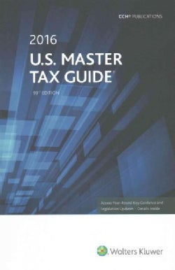 U.S. Master Tax Guide 2016 (Paperback)