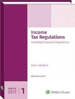 Income Tax Regulations Winter 2017: December 2016 (Paperback)