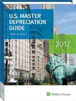U.S. Master Depreciation Guide 2017 (Paperback)