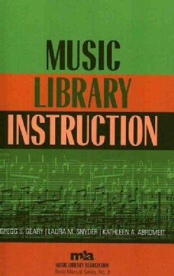 Music Library Instruction (Paperback)